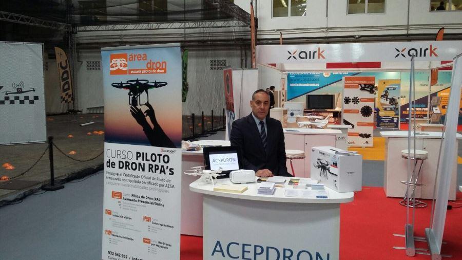 Ignacio Rubio, Presidente de ACEPDRON en DroneShow 03
