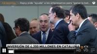 Ignacio Rubio con Mariano Rajoy en Jornadas Conectados al futuro